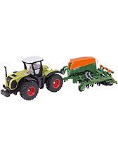 SIKU 1826 Traktor mit Sämaschine 1:87