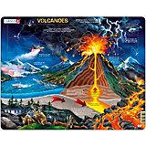 Rahmenpuzzle: Vulkane - 70 Teile