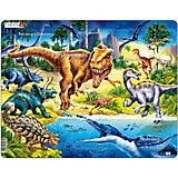 Rahmenpuzzle: Dinosaurier - Kreide Zeit - 57 Teile