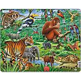 Rahmenpuzzle Larsen: Dschungel - 20 Teile