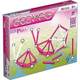 Geomag Pink, 66-tlg.