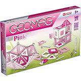Geomag Pink, 142-tlg.