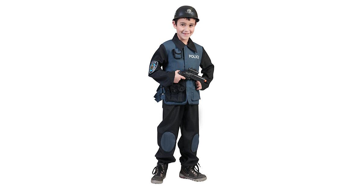 Kostüm Polizist Gr. 140 Jungen Kinder
