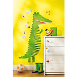 Wandsticker Messlatte Krokodil