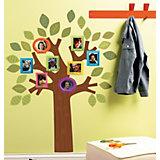 Wandsticker Familienstammbaum