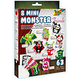 Filzbastelset Mini Monster Friends, 8 Stück