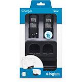 Wii U 2+1 Charger (schwarz)