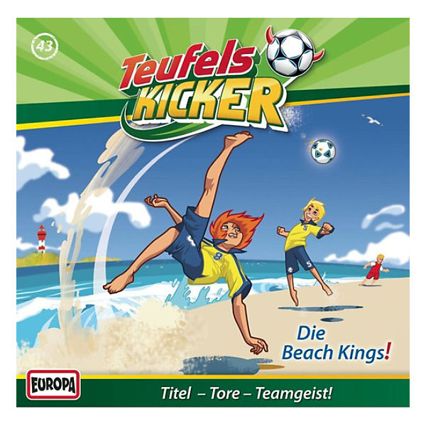 CD Teufelskicker 43 - Die Beachkings