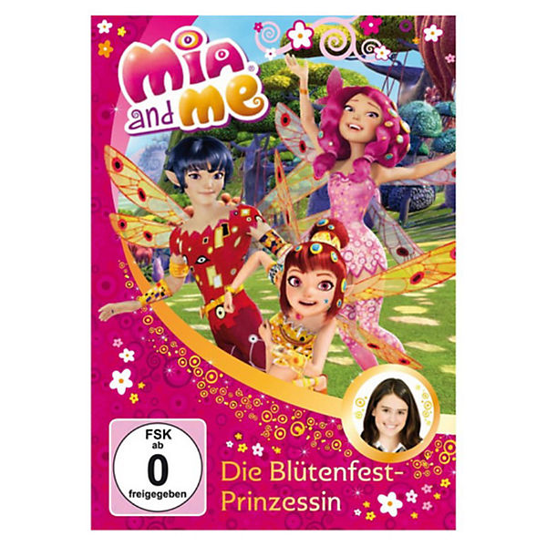 DVD Mia and me 09 - Die Blütenfest Prinzessin