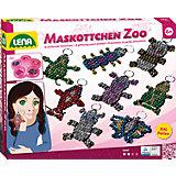 Design Studio XL Perlen-Maskottchen Zoo