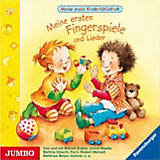 Meine 1. Kinderbibliothek: Erste Fingerspiele und Lieder, 1 Audio-CD