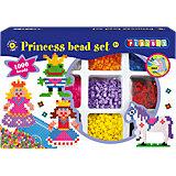 Großes Bügelperlenset Prinzessin, 4000 Perlen & Zubehör