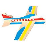 Modellflugzeuge aus Holz, 12 Stück