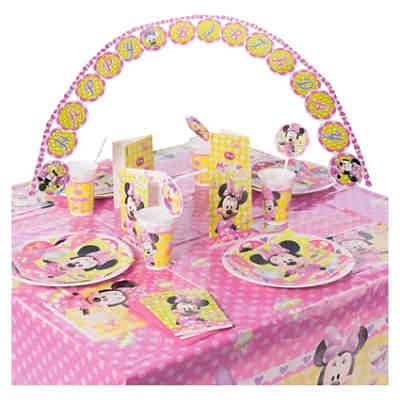 Partyset Minnie Bow-Tique 56-tlg.