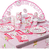 Partyset Hello Kitty Hearts 56-tlg.