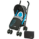 Buggy Slim Comfort Set inkl. Fußsack und Wickeltasche, city light blue, 2013