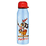 Isolier-Trinkflasche isoBottle Piraten blau, 500 ml