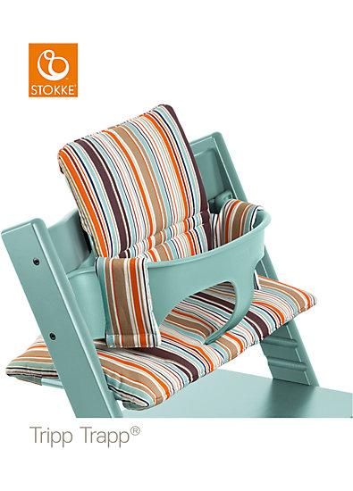 tripp trapp sitzkissen signature stripe stokke mytoys. Black Bedroom Furniture Sets. Home Design Ideas