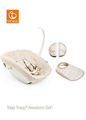 Tripp Trapp® Newborn Textile Set™, Beige Check