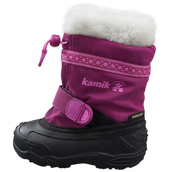 Diese SUPERFIT Kinder Winterstiefel mit GORE-TEX-Membran schützen kleine Füße dauerhaft - jedem Wetter. Sie sorgen für angenehme und trockene Füße und sind dauerhaft wasserdicht.