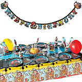 Party-Set Pirates 64pcs