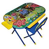 """Синий набор мебели """"Маугли"""" (3-7 лет), Дэми"""
