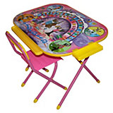 """Розовый набор мебели """"Ну, погоди!"""" (3-7 лет), Дэми"""