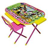 """Набор мебели """"Чиполлино"""" (3-7 лет), Дэми, розовый"""