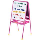 Розовый двусторонний мольберт с буквами, Дэми