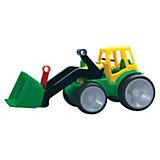 Traktor mit Schaufel, 34 x 16 cm
