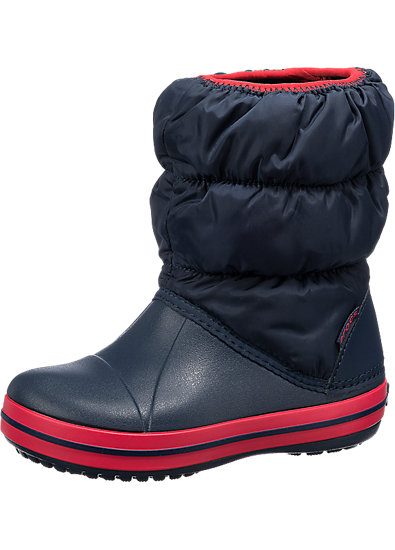 crocs winter puff boot kinder winterstiefel crocs blau. Black Bedroom Furniture Sets. Home Design Ideas