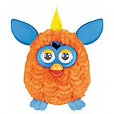 Интерактивная игрушка Furby (Ферби) с хохолком, оранжевый