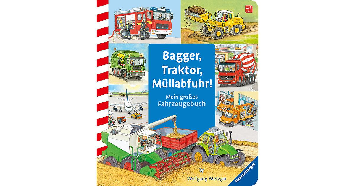Buch - Bagger, Traktor, Müllabfuhr!