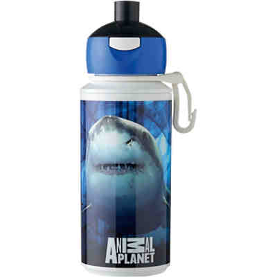 Trinkflasche Campus pop-up Animal Planet Hai, 275 ml