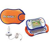 MobiGo 2 Lernkonsole inkl. Zubehör, blau-orange