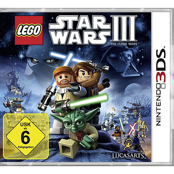 3DS Lego Star Wars 3