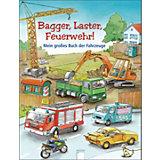 Bagger, Laster, Feuerwehr! Mein großes Buch der Fahrzeuge, Sammelband