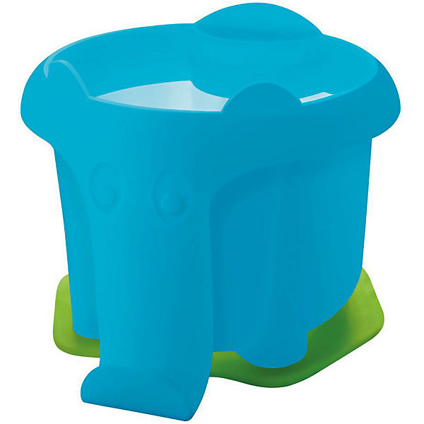 Wasserbecher Elefant blau