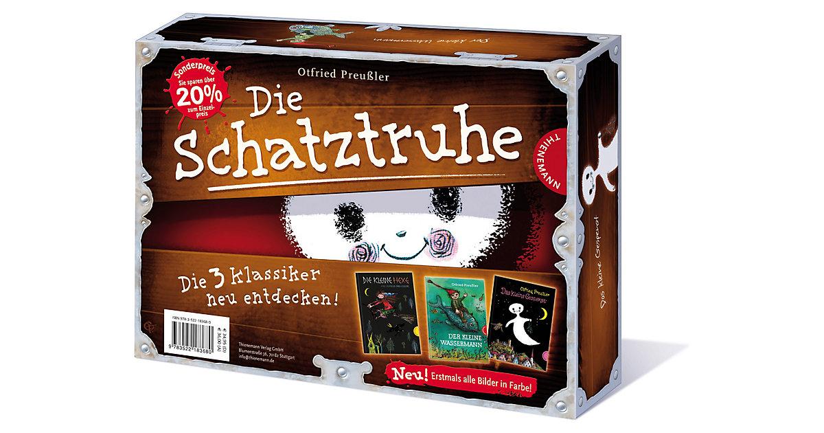 Buch - Die Schatztruhe mit Das kleine Gespenst, Die kleine Hexe, Der kleine Wassermann, Sammelband