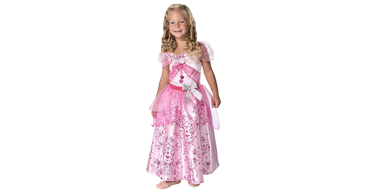 Kostüm Barbie Prinzessin pastell Gr. 104/116 Mädchen Kleinkinder