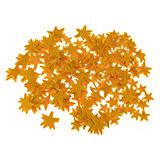 Filz-Stanzteile Sterne goldgelb, 280 Stück