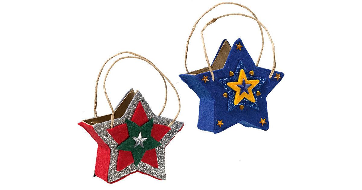 Paper Art Taschen-Set Stern, 4 Stück