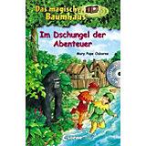 Das magische Baumhaus: Im Dschungel der Abenteuer, Sammelband mit Audio-CD