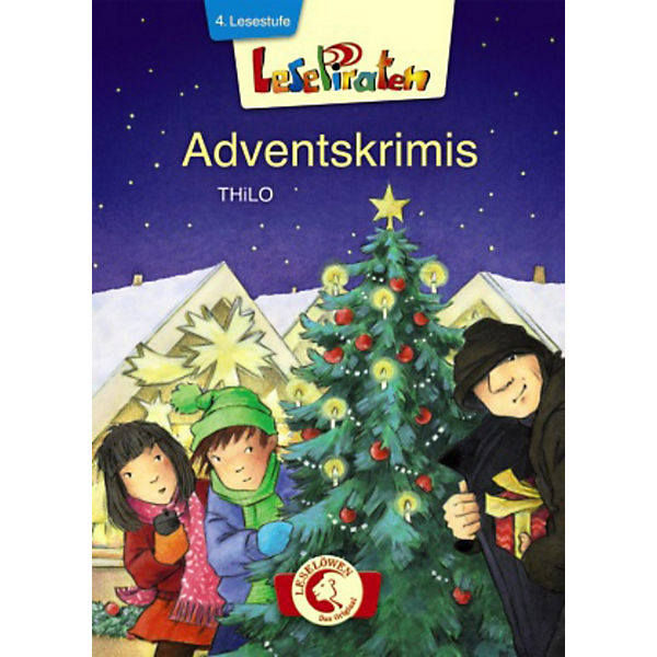 Lesepiraten: Adventskrimis, 4. Lesestufe