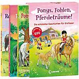 Ponys, Fohlen, Pferdeträume!, 3 Bände im Schuber