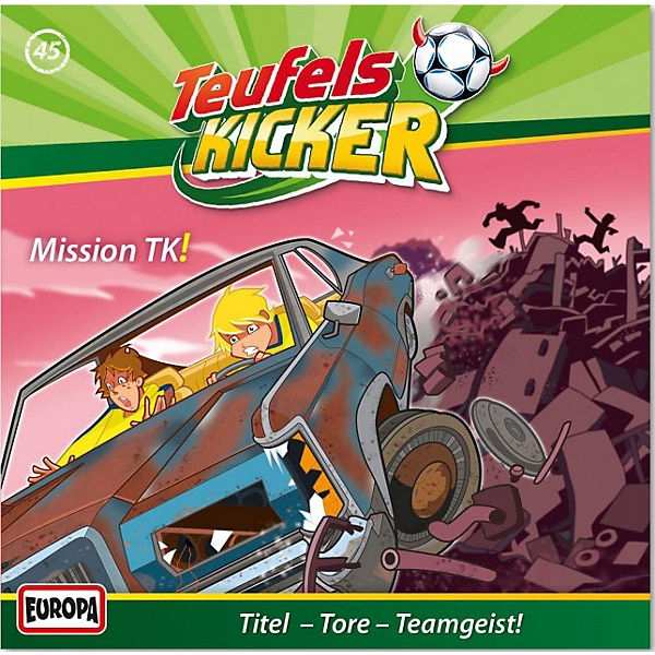 CD Teufelskicker 45 - Mission TK!