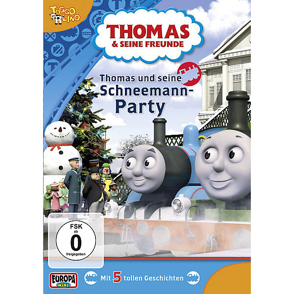 dvd thomas seine freunde 31 und seine schneemann party. Black Bedroom Furniture Sets. Home Design Ideas