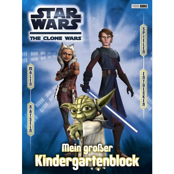 Star Wars The Clone Wars: Kindergartenblock