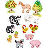 """Фигурки """"Животные фермы, деревья"""", CAUSE"""
