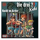 CD Die drei ??? Kids 33 - Nacht im Kerker